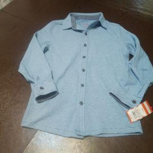 (NWT) Boys Cat & Jack long sleeve shirt
